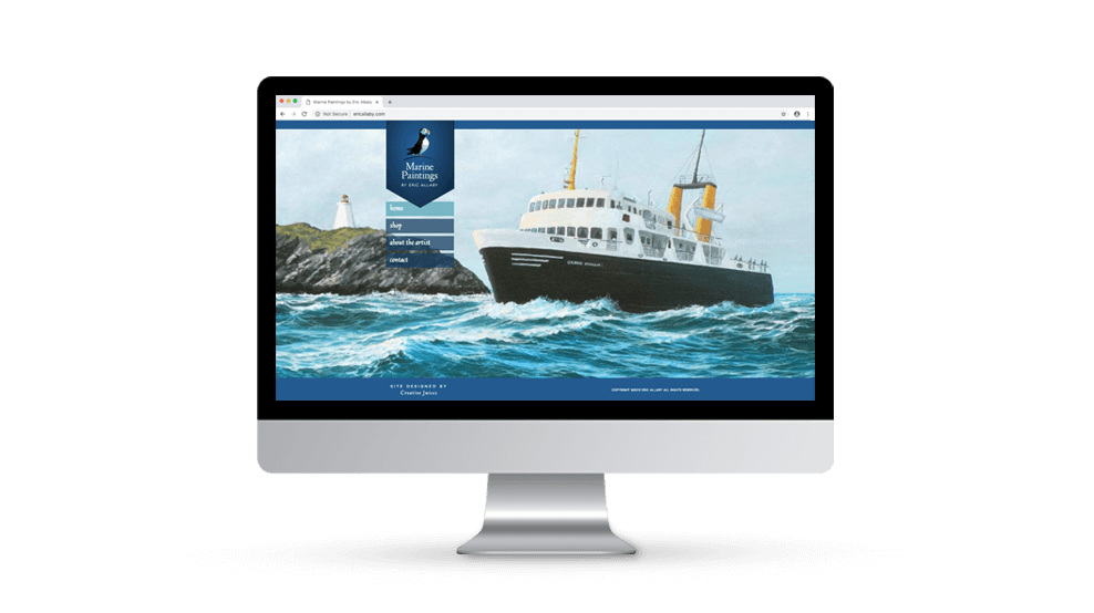 Marine Paintings - Website