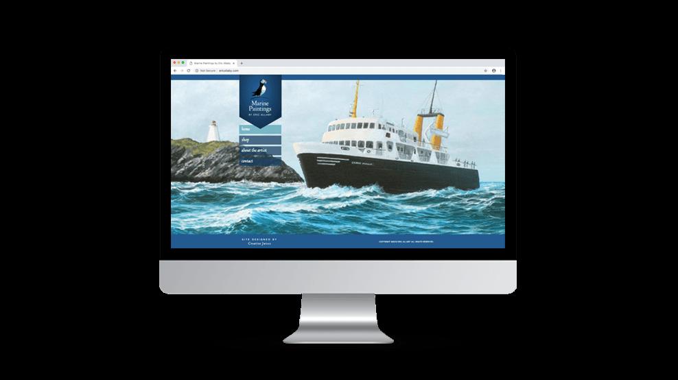Marine Paintings - Website