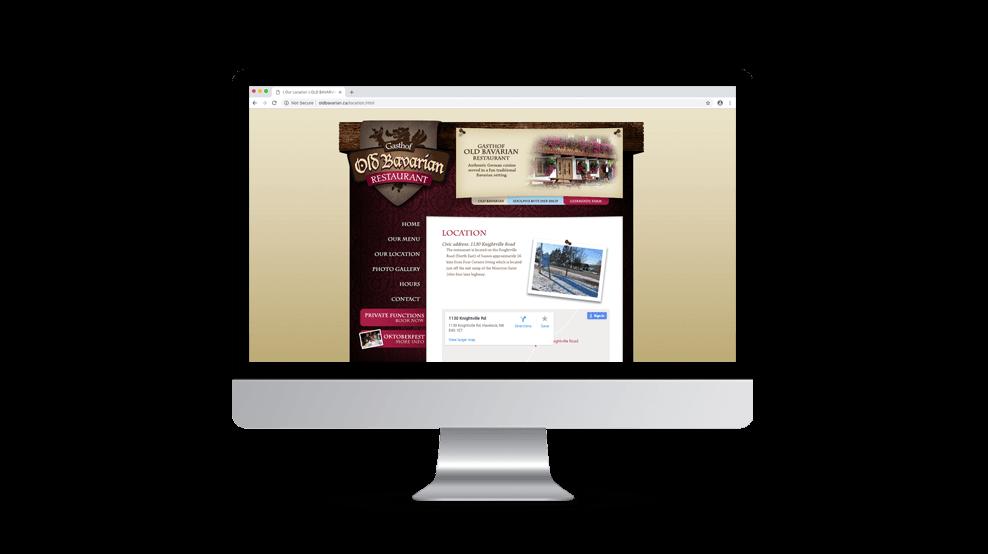 Old Bavarian - Website