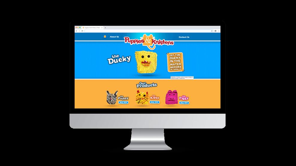 Puppies & Knittens - Website