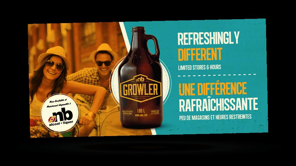 ANBL Growler - Ad