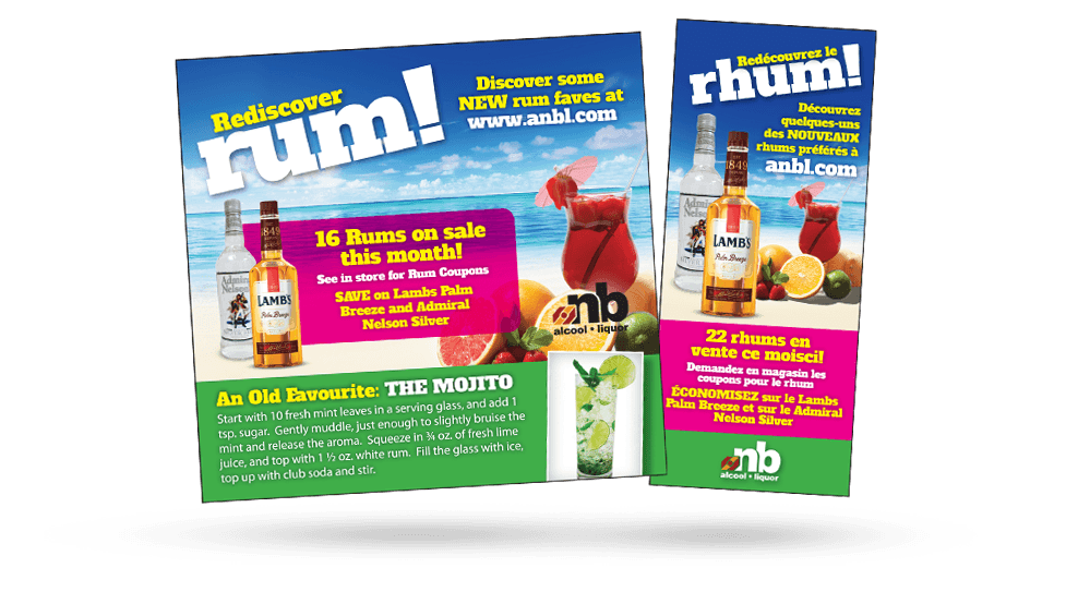 ANBL Rediscover Rum - Ads