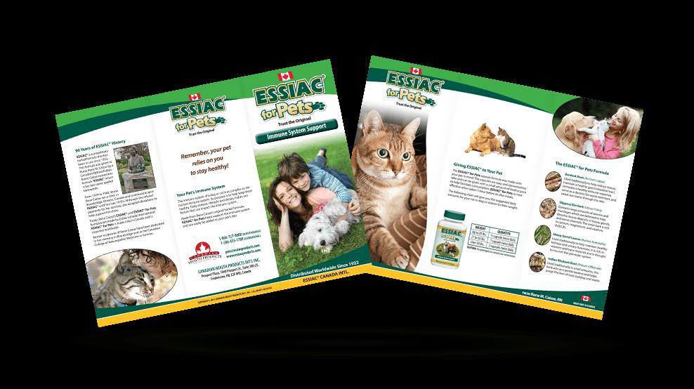 Essiac for Pets - Brochure