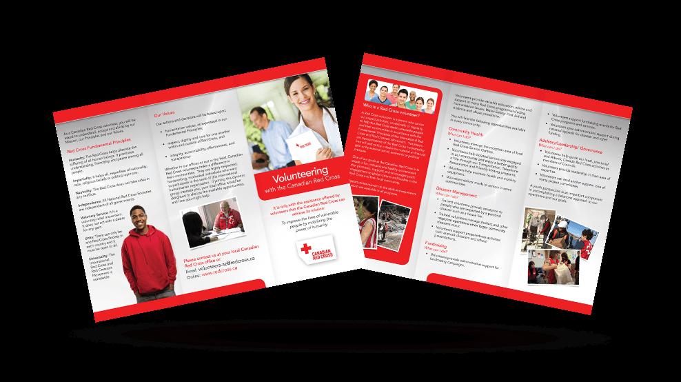 Canadian Red Cross - Brochure