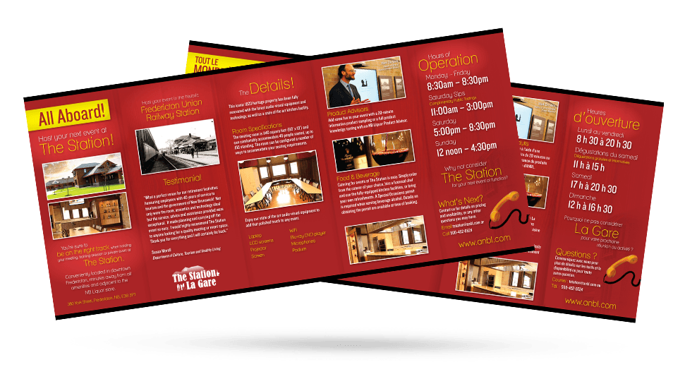 The Station - Brochure