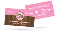 Hot Lollies - Business Card