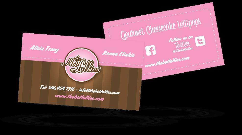 Hot Lollies - Business Card