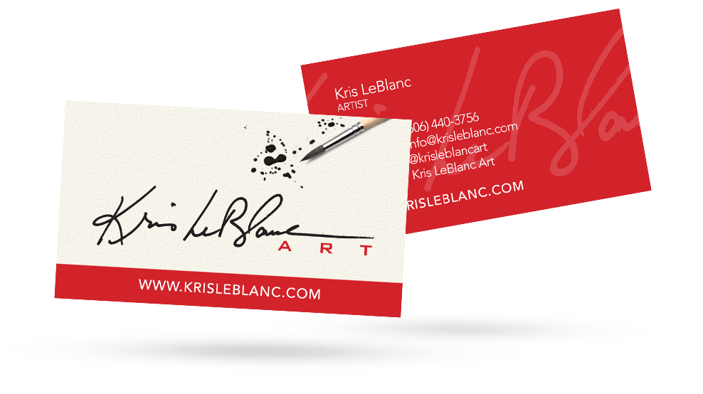 Kris Leblanc - Business Card