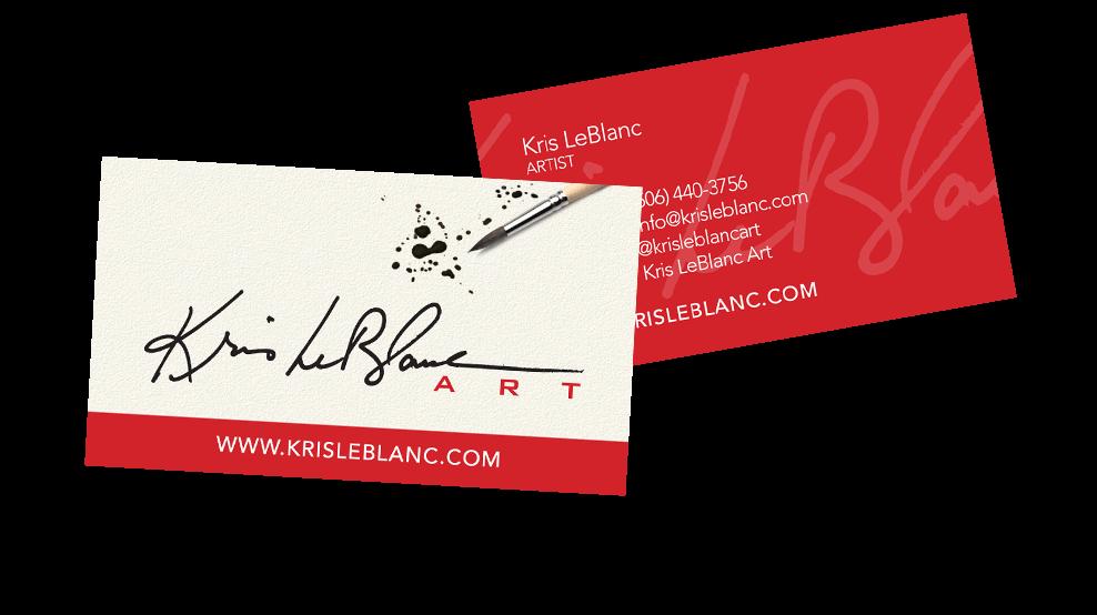 Kris Leblanc - Business Card