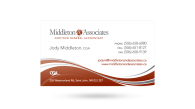 Middleton & Associates - Business Card