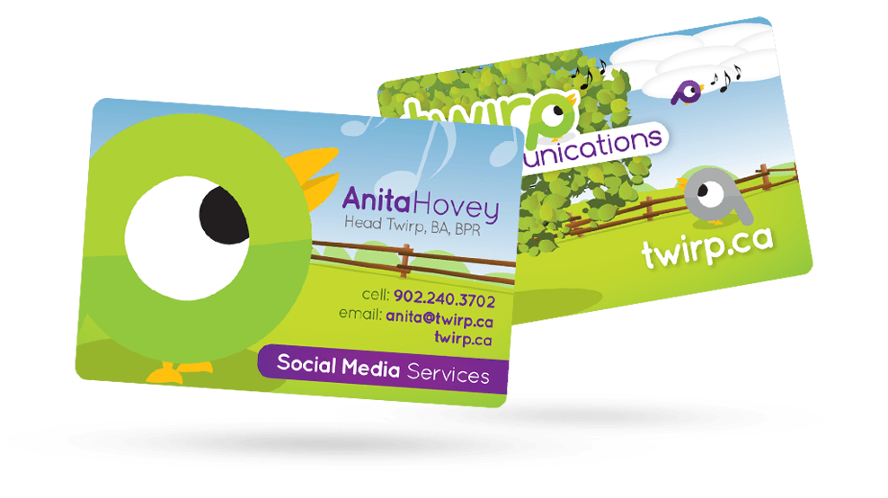 Twirp - Business Card