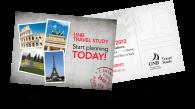 UNB Travel - Postcard