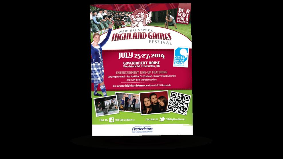 Highland Games - Ad