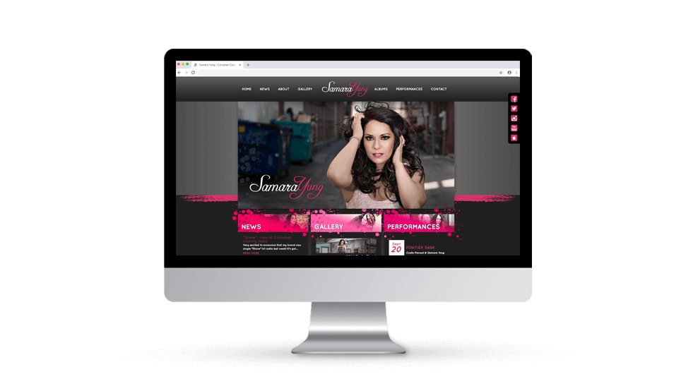 Samara Yung - Website