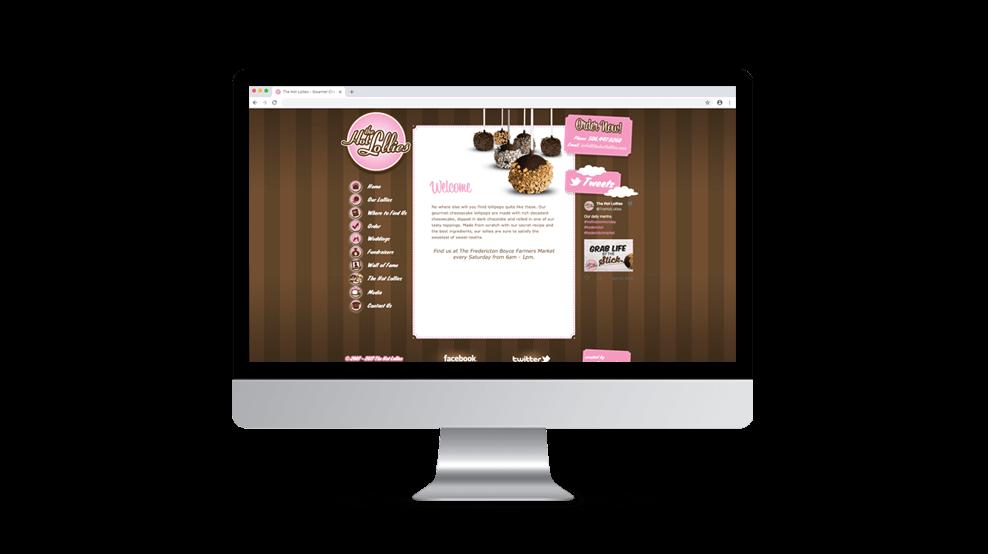 The Hot Lollies - Website