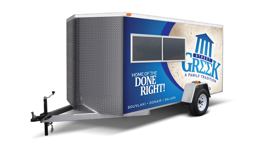 Street Greek - Trailer Wrap