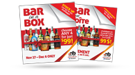 Bar in a Box - Ad