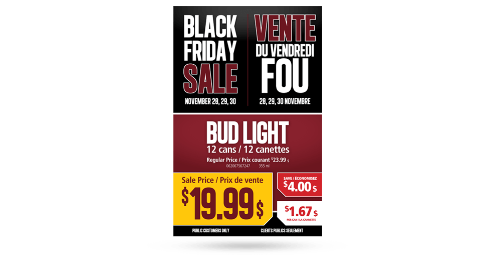 Black Friday at ANBL - Poster