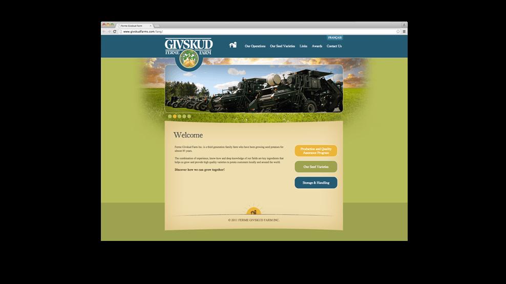 Givskud - Website