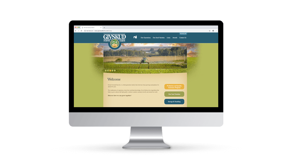 Givskud Farms - Website