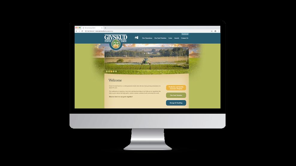 Givskud Farms - Website