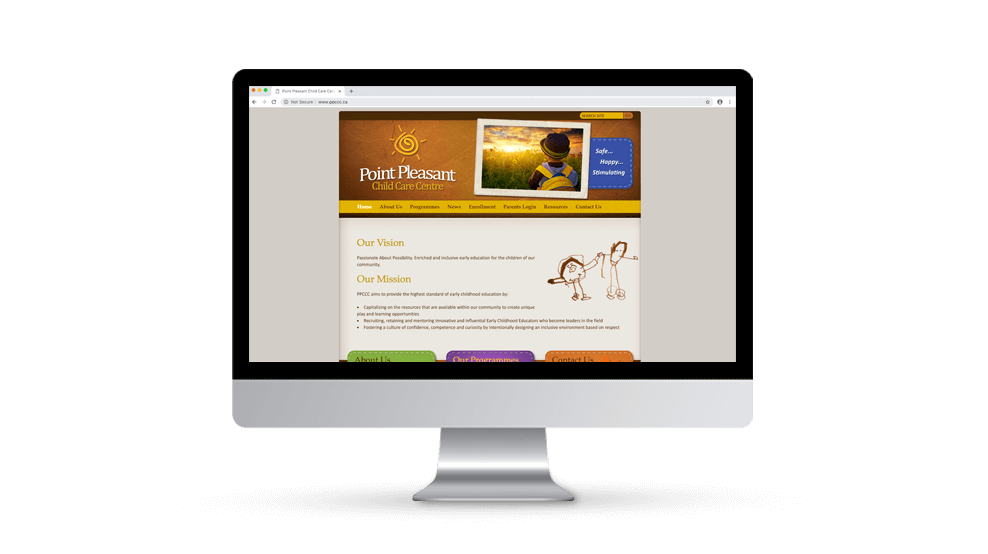 Point Pleasant Child Care - Website