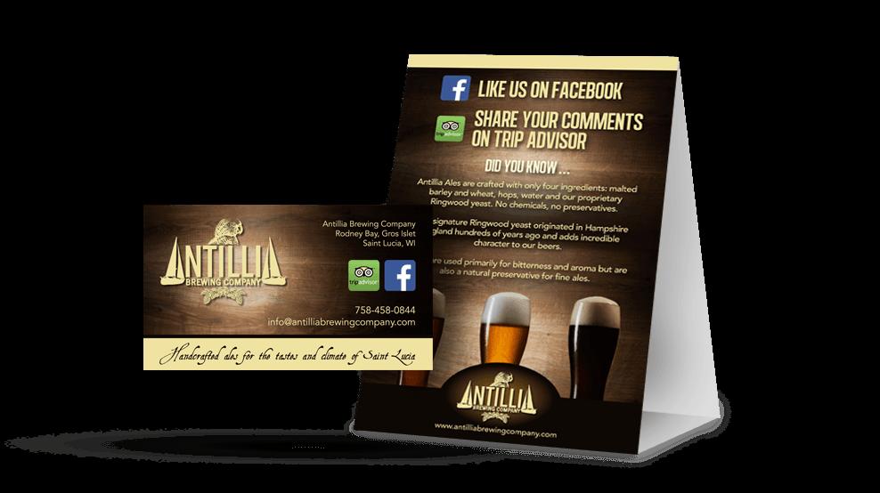 Antillia - Tentcard