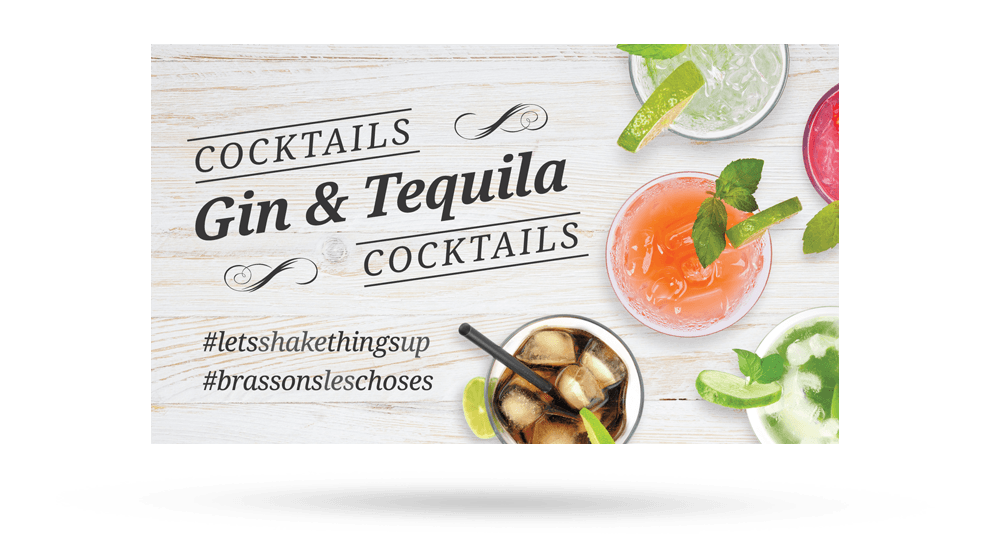ANBL Gin & Tequila - Backer