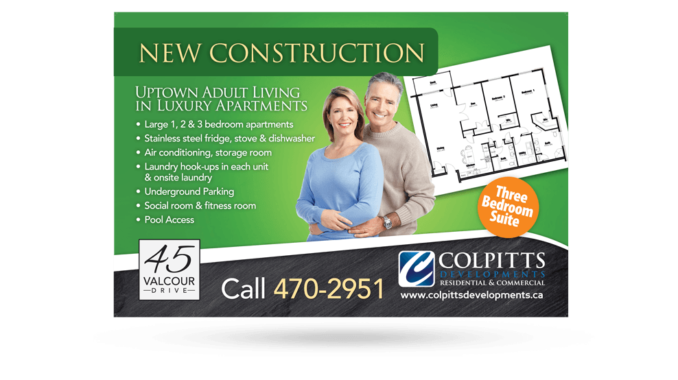 Colpitts Developments - Ad