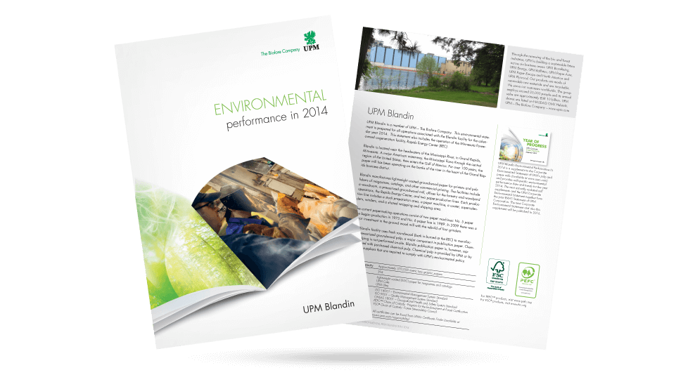 UPM - Environmental Report
