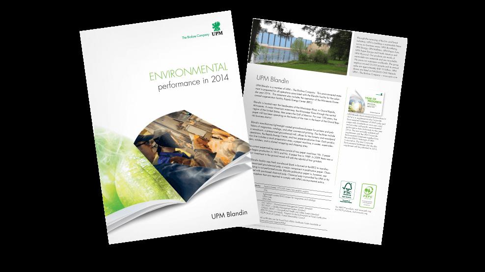 UPM - Environmental Report