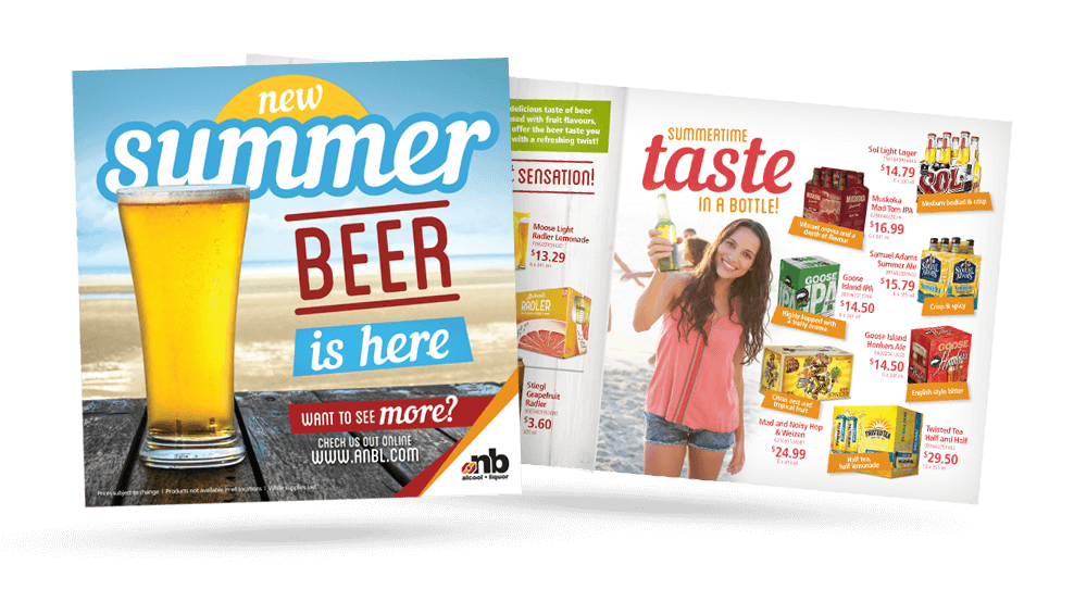 ANBL Summer Beer - Flyer