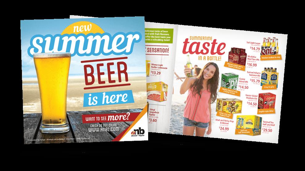 ANBL Summer Beer - Flyer