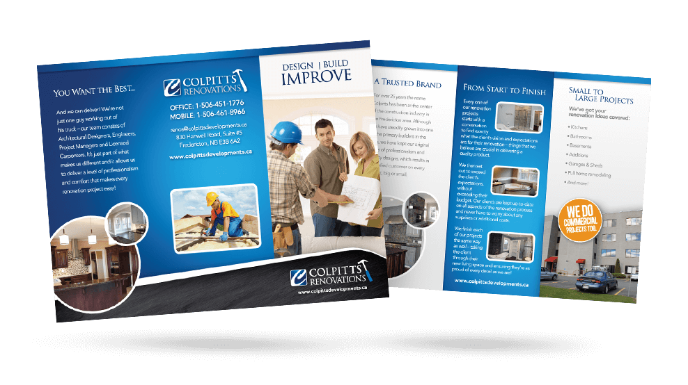 Colpitts Renovations - Brochure