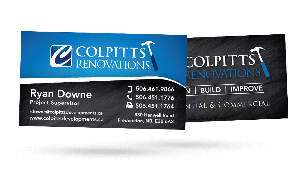 Colpitts Renovations - Business Card
