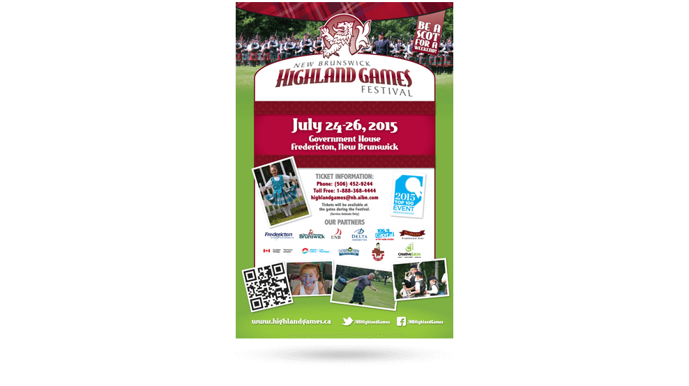 Highland Games - Poster