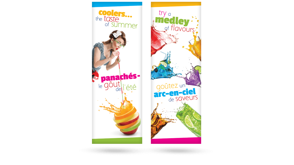 Summer Coolers - Banners