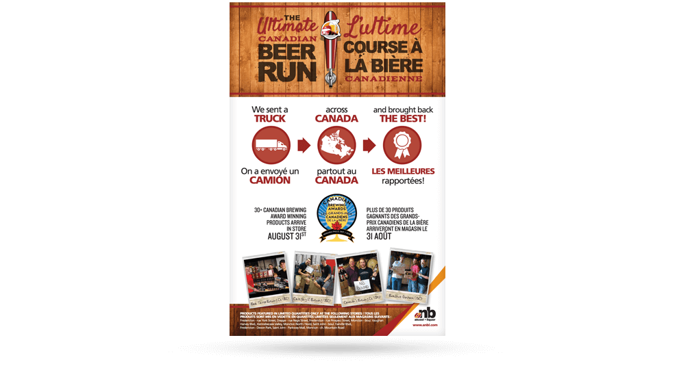 ANBL - Ultimate Canadian Beer Run Poster