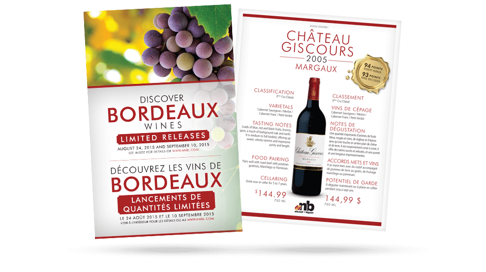 ANBL - Bordeaux Poster / Sell Sheets