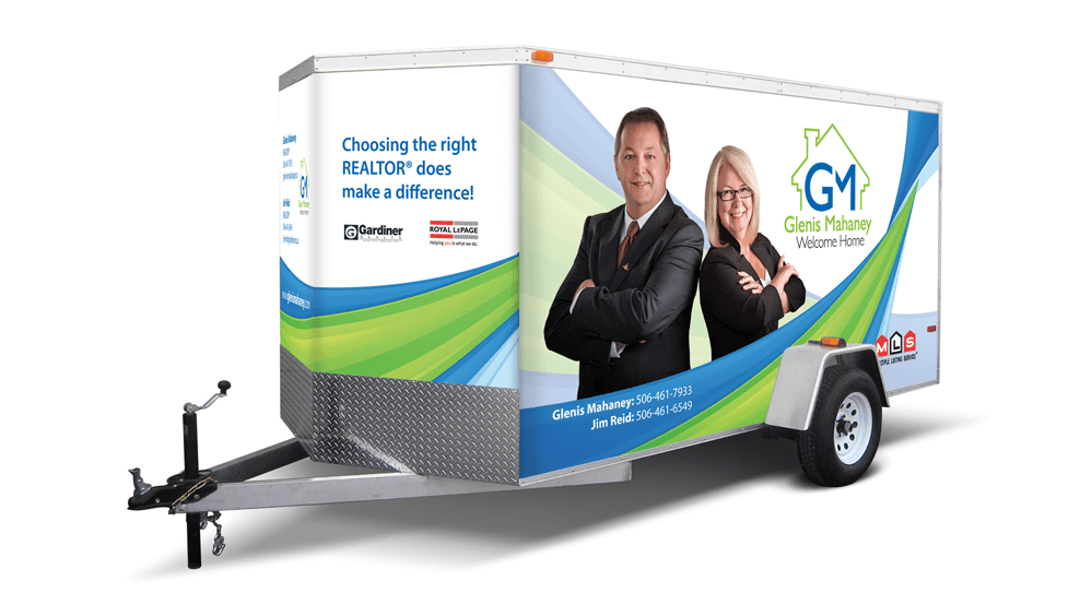 Glenis Mahaney - Trailer Wrap