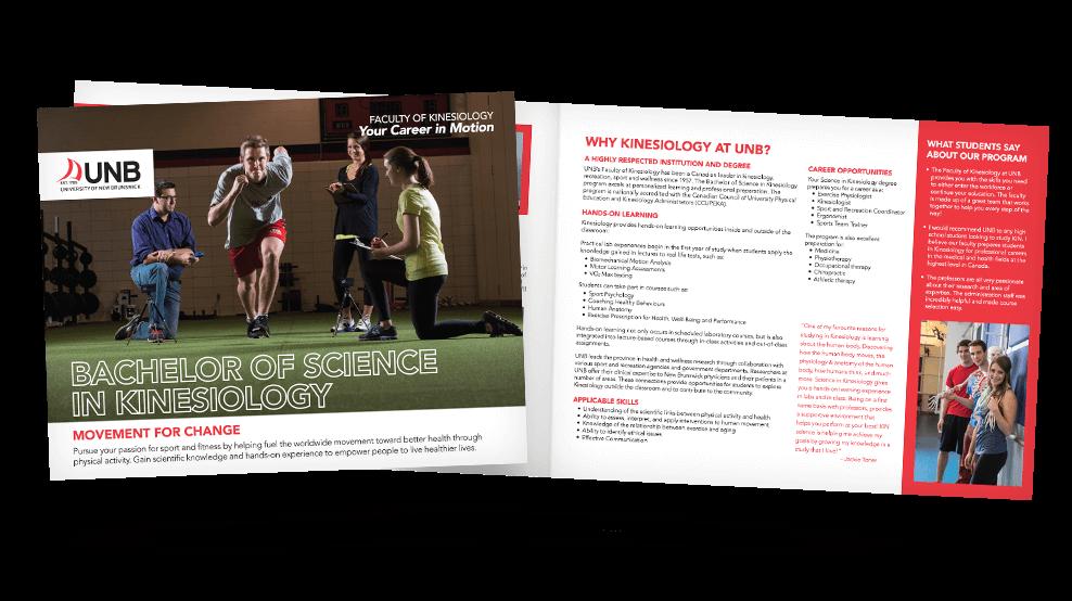 UNB Kinesiology - Brochure