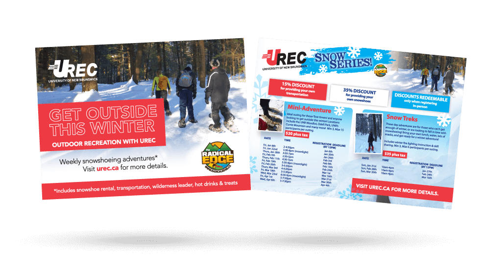 URec Outdoor Recreation - Ad