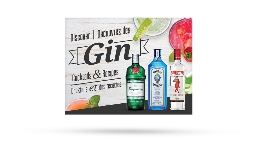 Discover Gin - Backer
