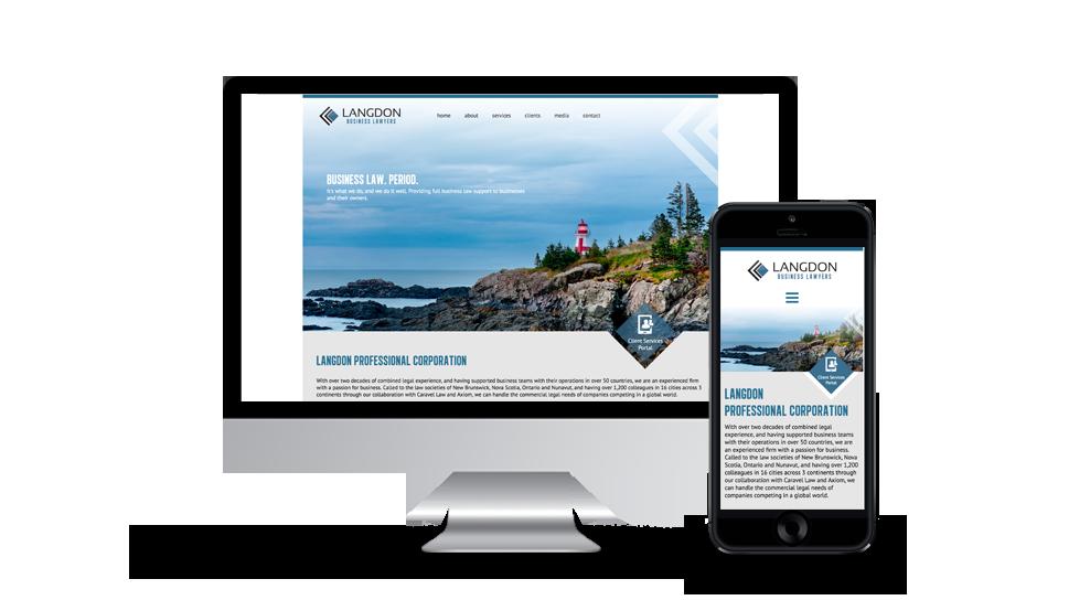 Langdon Business Lawyers - Website
