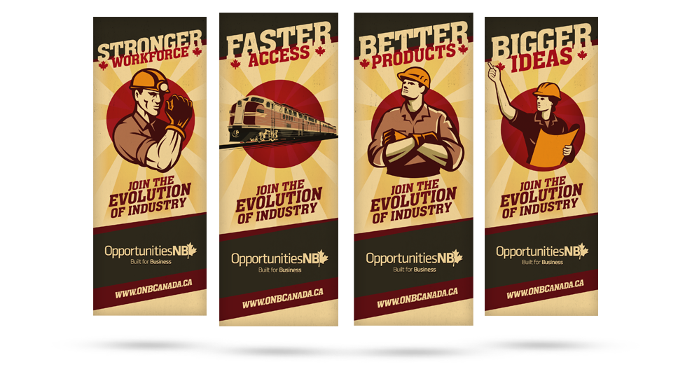 Evolution Of Industry - Banners