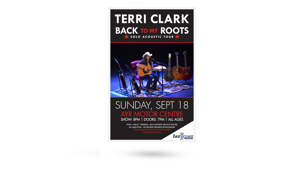 Terri Clark Poster Layout - ECPG