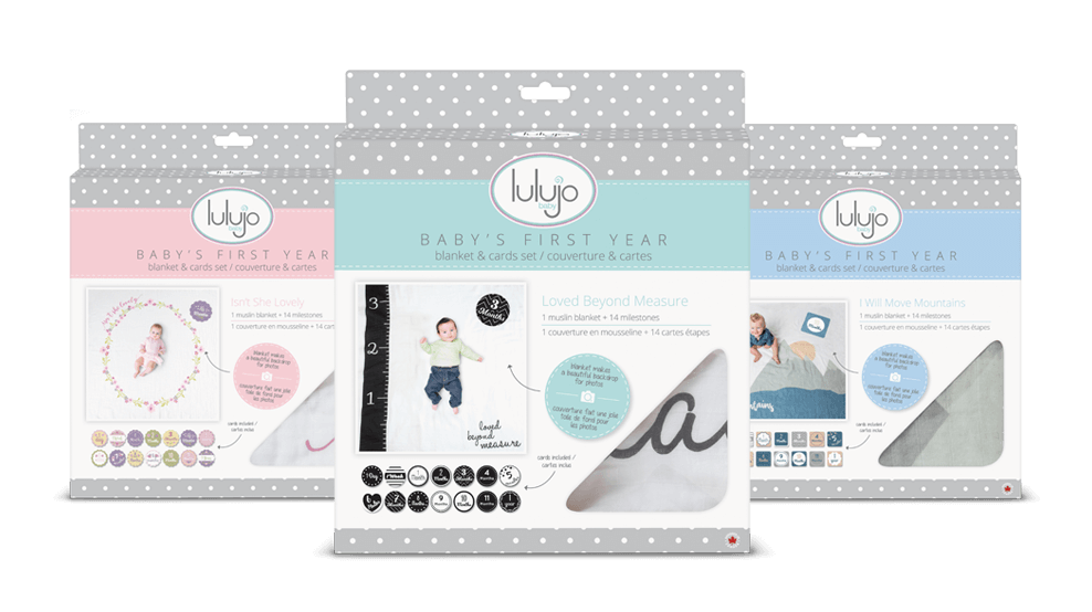 Lulujo - Baby's First Year Packaging