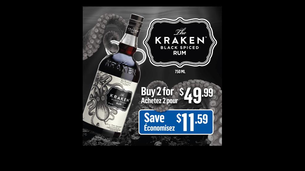 Kraken Rum - Social Media Ad