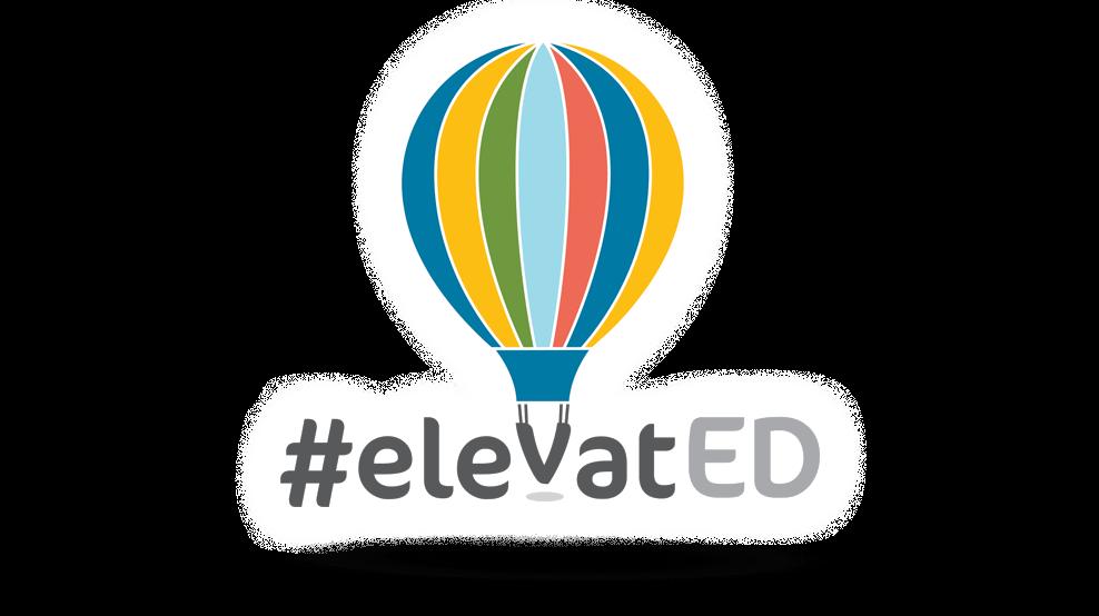 #elevatED - Logo