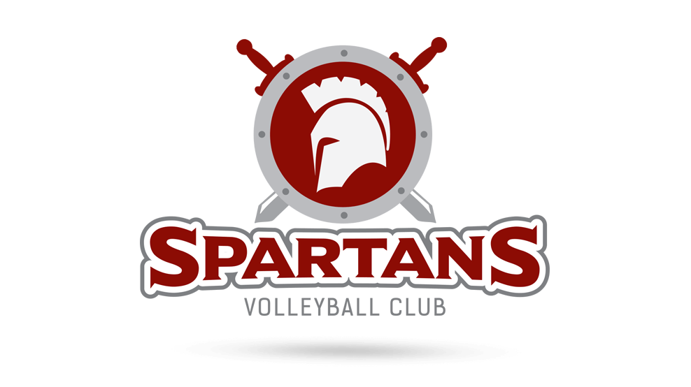 Spartans Volleyball Club - Logo